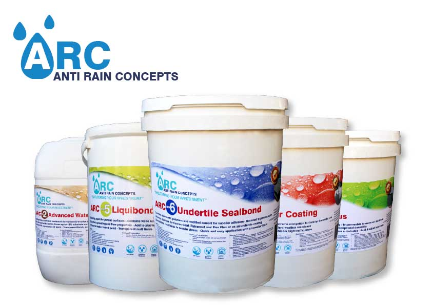 Waterproofing products-east-london